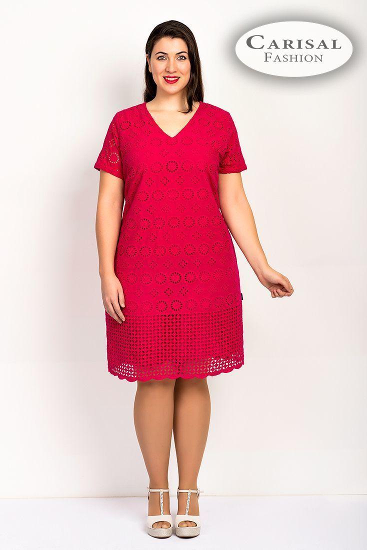 Vestidos Mujeres Tallas Grandes rojo