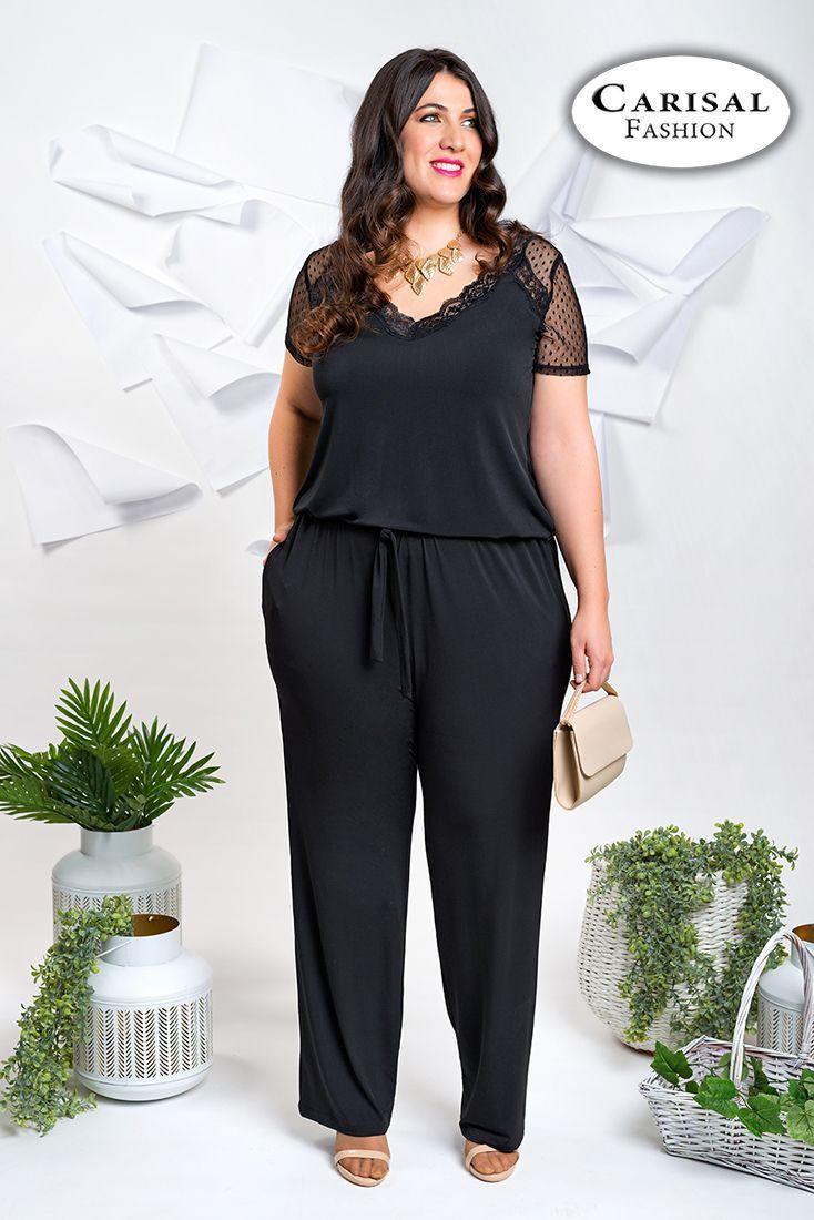 90e69a57aad Monos de tallas grandes para mujer | Carisalfashion ®